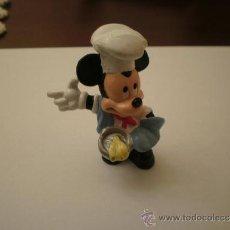Figuras de Goma y PVC: MICKEY MOUSE COCINERO BULLY WALT DISNEY PVC. Lote 36185862