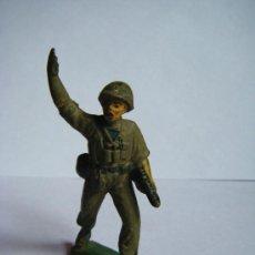 Figuras de Goma y PVC: JECSAN SOLDADO - ANTIGUO. Lote 36244089