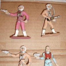 Figuras de Goma y PVC: COMANSI SERIE OVNI 4 FIGURAS. Lote 36267182