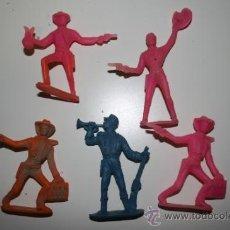 Figuras de Goma y PVC: 5 FIGURAS COMANSI.. Lote 36281707