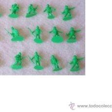 Figuras de Goma y PVC: MONTAPLEX AMERICANOS MONTAPLEX NUEVA GENERACION ALTOS LOTE 2. Lote 36433980