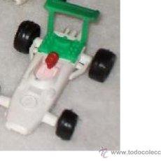Figuras de Goma y PVC: MONTAPLEX BOLIDOS. Lote 36448070