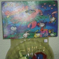 Figuras de Goma y PVC: BLISTER SNORKELS CON ACCESORIOS VARIOS ( ¡¡ NOVEDAD !! ) , MINILAND S.A ( MADE IN SPAIN) AÑOS 80 (O). Lote 36612421