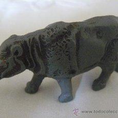 Figuras de Goma y PVC: RINOCERONTE DE GOMA AÑOS 50 PECH HERMANOS. Lote 36730513