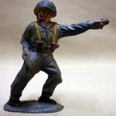 Figuras de Goma y PVC: FIGURA DE GOMA, MARINE, SOLDADO WWII, SEGUNDA GUERRA MUNDIAL, 5 CM, FABRICADO POR REAMSA, 1950S. Lote 36809281