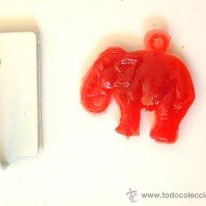 Figuras de Goma y PVC: ELEFANTE COLGANTE DE PLÁSTICO AÑOS CINCUENTA. Lote 36835700