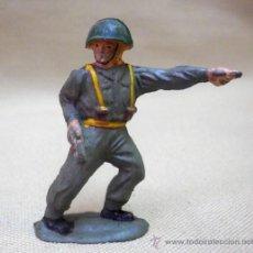 Figuras de Goma y PVC: FIGURA DE GOMA, MARINE, SOLDADO WWII, SEGUNDA GUERRA MUNDIAL, 5 CM, FABRICADO POR REAMSA, 1950S. Lote 36872719