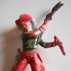 Figuras de Goma y PVC: VAQUERO DE PECH HERMANOS FIGURA 17 DEL CATALOGO ORIGINAL 100% AÑOS 70 . Lote 36874492