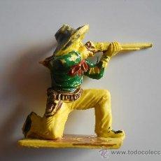 Figuras de Goma y PVC: PECH HERMANOS : VAQUERO COWBOY ORIGINAL 100% AÑOS 60 FIGURA Nº 22 DEL CATALOGO . Lote 36887494