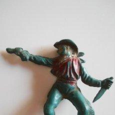 Figuras de Goma y PVC: PECH HERMANOS VAQUERO EN GOMA AÑOS 50 . Lote 36905064