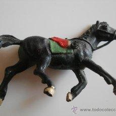 Figuras de Goma y PVC: PECH HERMANOS CABALLO CARRETA EN GOMA SERIE MINI OESTE AÑOS 50 . Lote 36905154