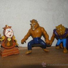 Figuras de Goma y PVC: LOTE BELLA Y BESTIA DISNEY. Lote 36947999