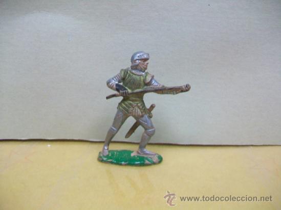 FIGURA MEDIEVAL GOMA DE REAMSA - MEDIEVAL GOMA REAMSA (Juguetes - Figuras de Goma y Pvc - Reamsa y Gomarsa)