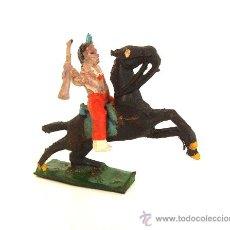 Figuras de Goma y PVC: CAPELL INDIO + CABALLO..REF.2733. Lote 26945033