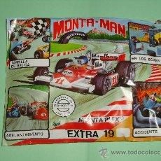 Figuras de Goma y PVC: SOBRE MONTAPLEX MONTA-MAN EXTRA N° 19. -C. Lote 156953026