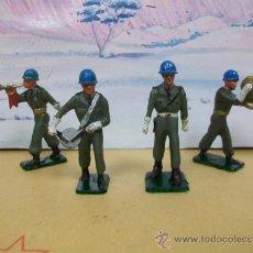 Figuras de Goma y PVC: FIGURA DESFILE CASCOS AZULES - DESFILE DE STARLUX. Lote 37467410