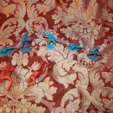 Figuras de Goma y PVC: LOTE DE FIGURAS MONOCOLOR EN PVC - SOLDADOS, BUZO Y PIRATA - AÑOS 50. Lote 37568230