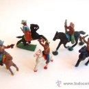 Figuras de Goma y PVC: CAPELL INDIOS Y VAQUEROS LOTE TODOS MODELOS PEQUEÑOS. Lote 158675022