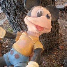 Figuras de Goma y PVC: ANTIGUO MUÑECO MICKEY MOUSE DE GOMA O PVC - WALT DISNEY - ORIGINAL AÑOS 60. Lote 37686143