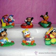 Figuras de Goma y PVC: BABIES DISNEY 5 FIGURA COLECCION MINIE MICKEY PLUTO DAISY DONALD BABY PVC DISNEY BULLY AÑOS 80. Lote 37633443