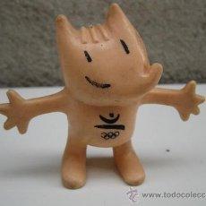Figuras de Goma y PVC: COBI - MASCOTA DE LAS OLIMPIADAS DE BARCELONA 92 - FIGURA DE PVC - COMANSI - AÑO 1988.. Lote 37682172