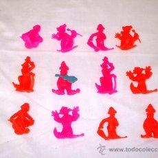 Figuras de Goma y PVC: PAYASOS DE LA ROCHE AUX FEES - FABRICADOS POR ESJUSA, MONTAPLEX, AÑOS 70 . Lote 37684813