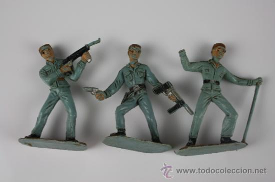 Figuras de Goma y PVC: GRAN LOTE DE SOLDADOS COMANSI EN PVC DE LA SERIE EJÉRCITOS DEL MUNDO - AÑOS 70 - Foto 2 - 37760646