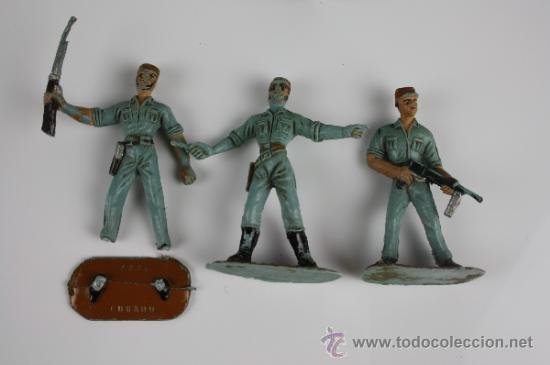 Figuras de Goma y PVC: GRAN LOTE DE SOLDADOS COMANSI EN PVC DE LA SERIE EJÉRCITOS DEL MUNDO - AÑOS 70 - Foto 3 - 37760646