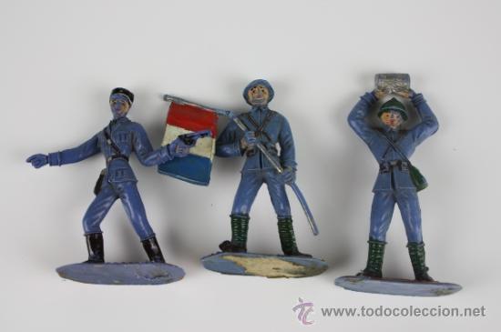 Figuras de Goma y PVC: GRAN LOTE DE SOLDADOS COMANSI EN PVC DE LA SERIE EJÉRCITOS DEL MUNDO - AÑOS 70 - Foto 7 - 37760646