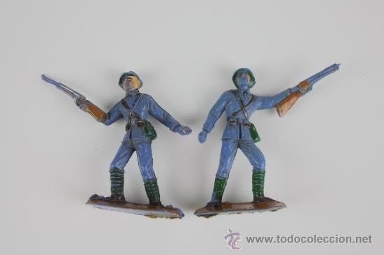 Figuras de Goma y PVC: GRAN LOTE DE SOLDADOS COMANSI EN PVC DE LA SERIE EJÉRCITOS DEL MUNDO - AÑOS 70 - Foto 8 - 37760646
