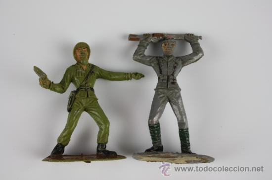Figuras de Goma y PVC: GRAN LOTE DE SOLDADOS COMANSI EN PVC DE LA SERIE EJÉRCITOS DEL MUNDO - AÑOS 70 - Foto 10 - 37760646