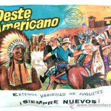Figuras de Goma y PVC: SOBRE MONTAPLEX Nº 121 OESTE AMERICANO. Lote 40898453