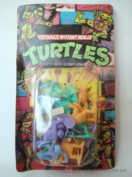 Figuras 90' Bootleg Tortugas Argentina Ninja Tmnt Blister OPuXkTZi