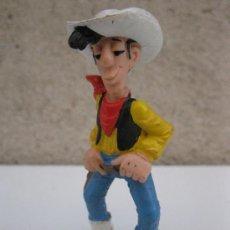 Figuras de Goma y PVC: LUCKY LUKE - FIGURA DE PVC - MORRIS - SCHLEICH - GERMANY - AÑO 1984.. Lote 37818164