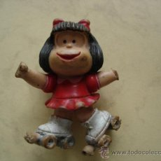 Figuras de Goma y PVC: FIGURA DE PVC MAFALDA CON PATINES. Lote 37840604