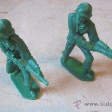 Figuras de Goma y PVC: DOS SOLDADOS COMANSI ESPAÑOLES. Lote 37928498