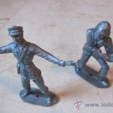 Figuras de Goma y PVC: DOS SOLDADOS COMANSI ESPAÑOLES. Lote 37928505