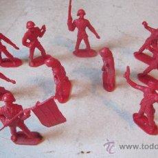 Figuras de Goma y PVC: DIEZ SOLDADOS COMANSI ESPAÑOLES. Lote 37928525