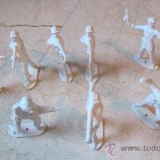 Figuras de Goma y PVC: OCHO SOLDADOS COMANSI ESPAÑOLES. Lote 37928536