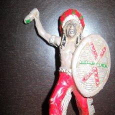 Figuras de Goma y PVC: TEIXIDO INDIO EN GOMA ORIGINAL 100% AÑOS 50 . Lote 37951178