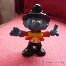 Figuras de Goma y PVC: FIGURA PVC - PITUFO / PITUFOS -MAGO ? - PEYO AÑOS 80. Lote 38104038