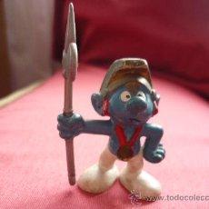 Figuras de Goma y PVC: FIGURA PVC - PITUFO / PITUFOS - ROMANO - PEYO AÑOS 80. Lote 38107572