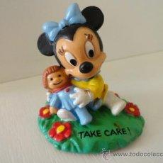 Figuras de Goma y PVC: MINNIE BABY MICKEY FIGURA GOMA BULLY DISNEY. Lote 38114531