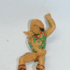 Figuras de Goma y PVC: ANTIGUA FIGURA DE LAFREDO, VAQUERO DE LOS GRANDES, MIDE 10 CMS, REALIZADO EN PLASTICO.. Lote 38232615