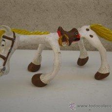 Figuras de Goma y PVC: JOLLY JUMPER - PERSONAJE DE LUCKY LUKE - FIGURA DE PVC FLEXIBLE - DARGAUD - COMICS SPAIN.. Lote 38237623