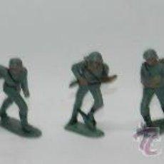 Figuras de Goma y PVC: 8 SOLDADOS ALEMANES DE PECH, REALIZADOS EN PLASTICO, MIDEN UNOS 6,5 CMS.. Lote 38260026
