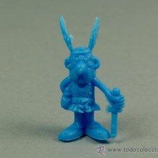 Figuras de Goma y PVC: DUNKIN FIGURA PLASTICO - PREMIUM CHICLES - ASTERIX AZUL - A1- NUEVO. Lote 78516439