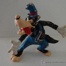 Figuras de Goma y PVC: BULLYLAND BULLY EL LOBO DE LOS TRES CERDITOS. Lote 38357605