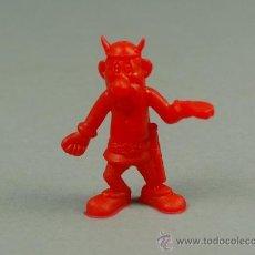 Figuras de Goma y PVC: ASTERIX DUNKIN FIGURA PLASTICO GALO ROJO - PREMIUM CHICLES - NUEVO - A4. Lote 43328490
