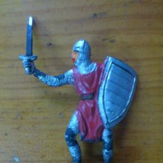 Figuras de Goma y PVC: FIGURA PLASTICO SOLDADO MEDIEVAL. PLASTICO.. Lote 38367135